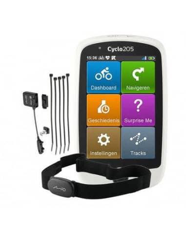 Liczniki i Nawigacje GPS Nawigacja GPS Mio Cyclo 205 HC + komplet czujników Mio Cyclo 205 HC Mio