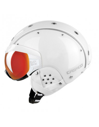 Kaski Kask Casco SP-6 VISER WEISS 07.2567. M 54-58 Casco