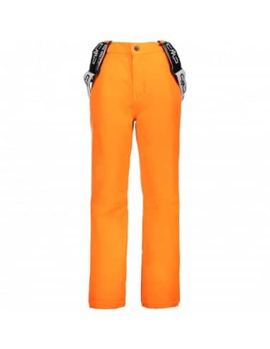 Spodnie Narciarskie SPODNIE CMP KID SALOPETTE ORANGE 3W15994/C645 CMP