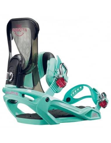 PRODUKTY ARCHIWALNE Wiązania Snowboardowe Salomon VENDETTA MINT L390653 Salomon