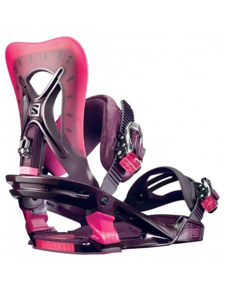 PRODUKTY ARCHIWALNE Wiązania Snowboardowe Salomon NOVA L390654 Salomon