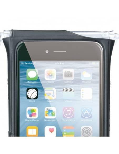 Uchwyty / Pokrowce / Powerbanki Pokrowiec TOPEAK SMARTPHONE DRYBAG FOR iPHONE 6+/6S+/7+ BLACK T-TT9842B Topeak