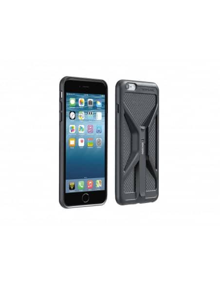 Uchwyty / Pokrowce / Powerbanki Uchwyt TOPEAK RIDECASE FOR iPHONE 6/6S PLUS BLACK T-TT9846B Topeak
