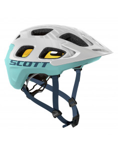 Kask Scott VIVO PLUS WHITE/BLUE
