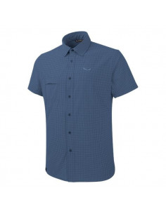 Koszula Salewa PUEZ MINI CHECK DRY M S/S SHIRT