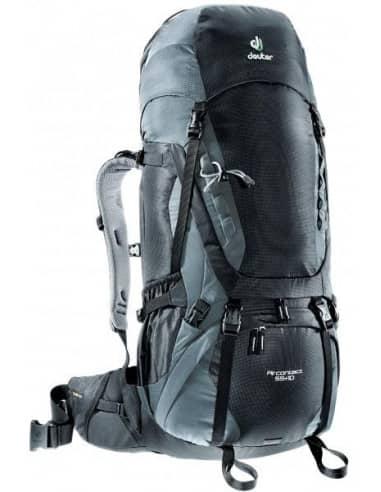 Plecaki Trekkingowe Plecak Deuter Aircontact 55 + 10 Deuter Aircontact 55 + 10 Deuter