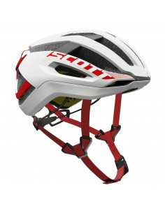 Kaski Kask Scott Centric PLUS (CE) white/red 2018 2500231030 Scott