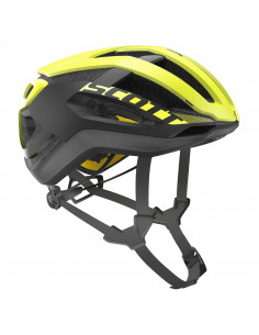Kaski Kask Scott Centric PLUS (CE) yellow RC 2018 2500235859 Scott
