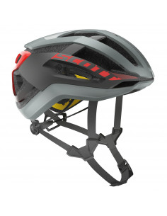Kaski Kask Scott Centric PLUS (CE) grey/red 2018 2500231049 Scott