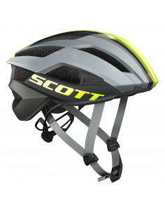 Kaski Kask Scott Arx Plus (CE) grey/yellow rc 2018 2412442896 Scott