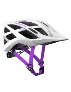 Kaski Kask Scott Spunto (CE) white/purple 2018 2186412320 Scott