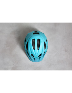 Kask Cube AM RACE iceblue´n´white 2018