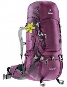 Plecaki Trekkingowe Plecak Deuter Aircontact 50 + 10 SL 3320216 Deuter