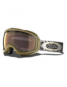 Oakley Elevate Marie France Roy Signature Series Goggles Gold Iridium