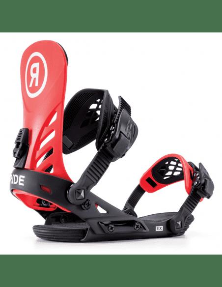 Wiązania Snowboardowe RIDE EX RED 2019