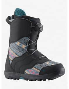 Buty Snowboardowe Burton MINT BOA BLACK/MULTI