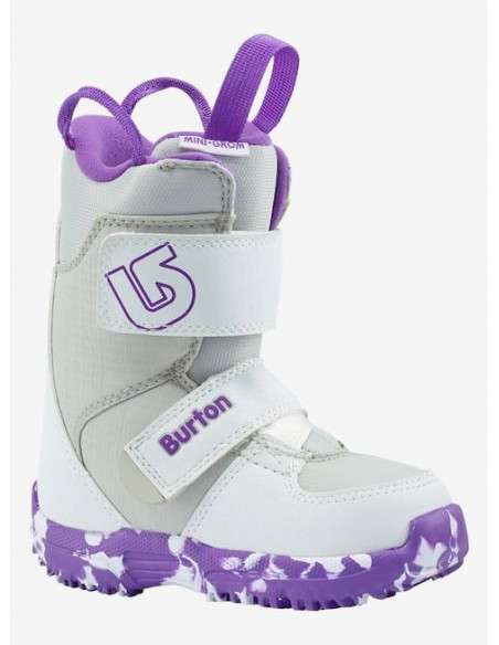 Buty Snowboardowe Burton MINI - GROM WHITE/PURPLE