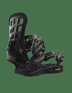 Wiązania Snowboardowe UNION Atlas™ Matte Black