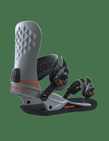 Wiązania Wiązania Snowboardowe UNION Strata™ Silver 183072 UNION