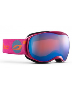 Gogle Gogle Julbo ATMO Fuchsia Orange Screen - Blue Flash J73812187__S Julbo