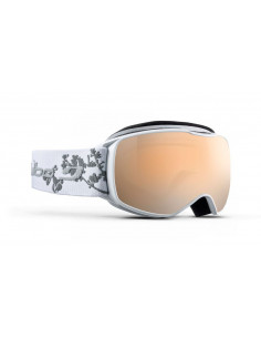 Gogle Gogle Julbo Echo White / Flower Orange Screen - Silver Flash J75312117_ GOGLE ECH Julbo
