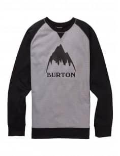 ODZIEŻ BLUZA BURTON- Crown Bonded Crew 16465105020 Burton
