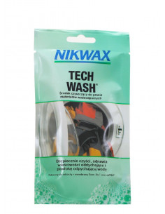 PIELĘGNACJA ODZIEŻY Nikwax Środek Piorący Tech Wash [Saszetka] NI-49 Nikwax
