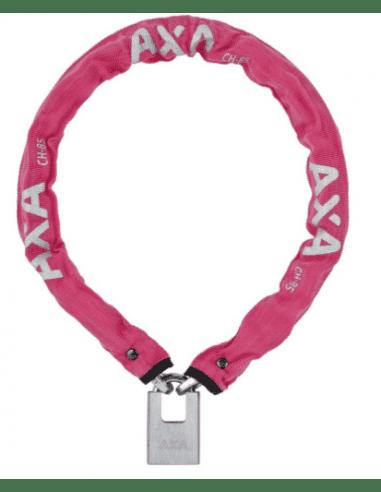 PRODUKTY ARCHIWALNE Axa Clinch 85 pink 85/6 key+padlock 5900229701SS AXA
