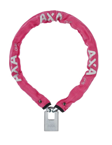 Axa Clinch 85 pink 85/6 key+padlock