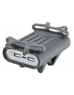 Uchwyty / Pokrowce / Powerbanki Uchwyt TOPEAK SMARTPHONE HOLDER W/POWERPACK 7800 mAH T-TSPH-1 Topeak
