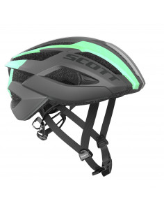 Kaski Kask Scott ARX BLACK/OPAL GREEN 241247 Scott