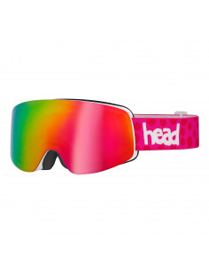 Gogle HEAD INFINITY FMR + Spare Lens pink