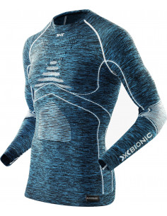 BIELIZNA Koszulka X-BIONIC ACC EVO MELANGE I100664 X-Bionic
