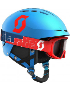 Kask Scott Apic Jr + Gogle Scott Witty