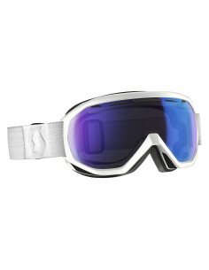 Gogle Scott Notice OTG white / illuminator blue chrome