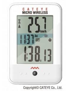 Liczniki i Nawigacje GPS Licznik rowerowy Cateye MICRO WIRELESS CC-MC200W 1603201